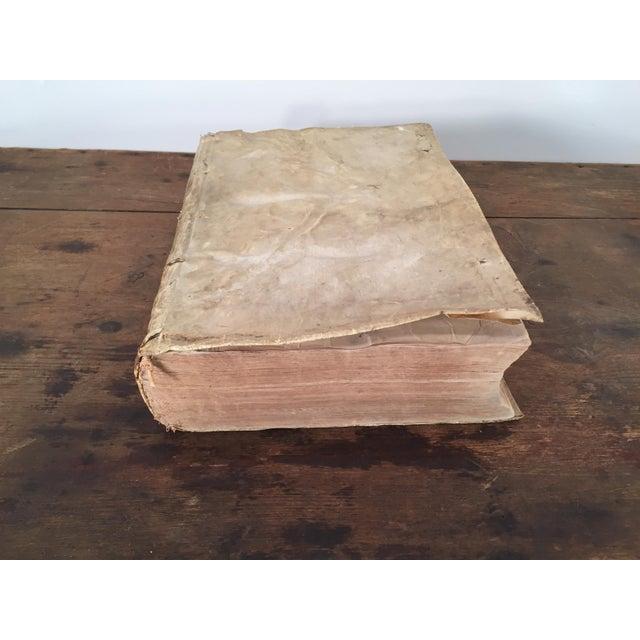 Renaissance André Tiraqueau 1614 Vellum Book For Sale - Image 3 of 9