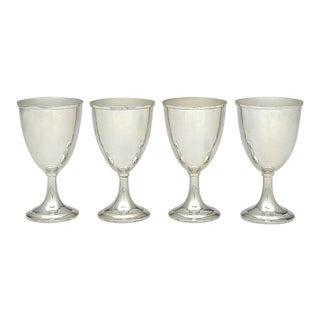 Gorham Silver 9324 Sterling Water Goblets - Set of 4 For Sale