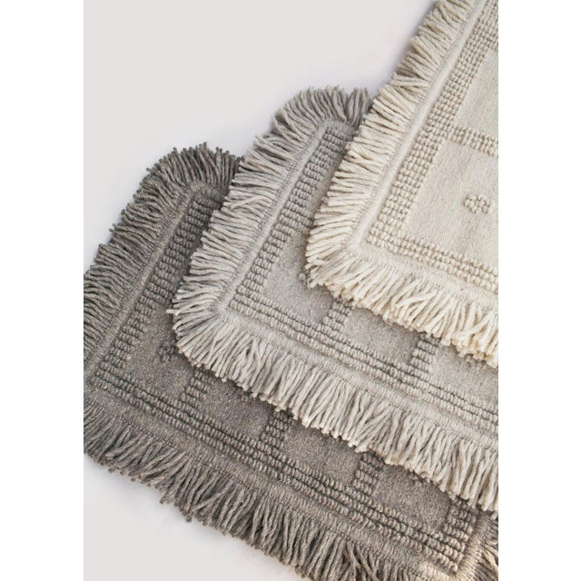 Handwoven, 100% pure wool with just the right amount of texture. The wool is sourced locally in Central Mexico and the...