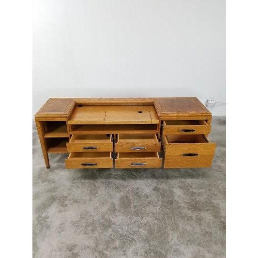 Monteverdi-Young 1960s Mid-Century Monteverdi Young Credenza Desk For Sale - Image 4 of 13