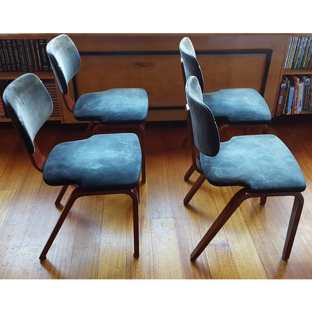Thonet Side/Dining Chairs - Set of 4 - Image 5 of 10