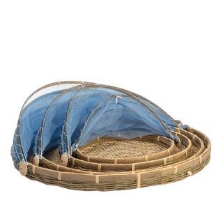 Medium Rattan Picnic Tent