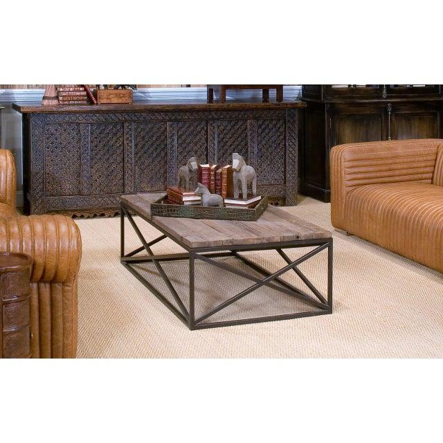 Sarreid Ltd Dockworker Board Coffee Table For Sale - Image 9 of 9