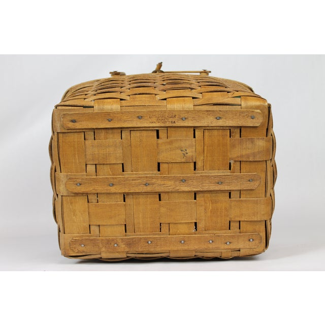 Vintage Longeberger Picnic Basket - Image 5 of 10
