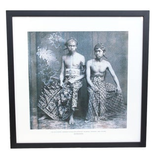 Laki Laki DI Kraton- Indonesian Vintage Image Inspiration - Collection - Temporama - Code - Tpr S203 For Sale