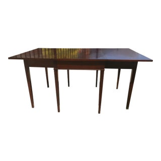 Drexel Traditional Mahogany Drop Leaf Table