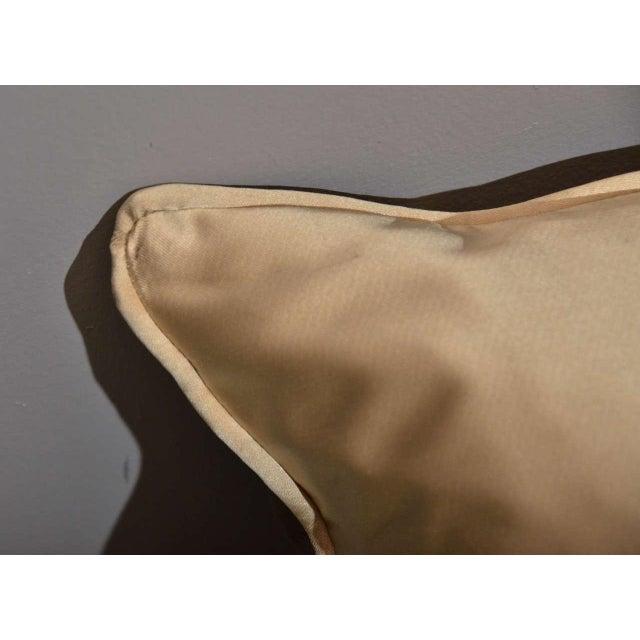 Scalamandre Brown Giraffe Print Pillows - A Pair - Image 4 of 5