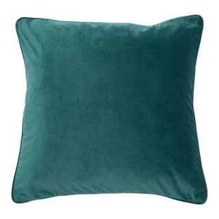 Contemporary Jade Luxe Cushion For Sale