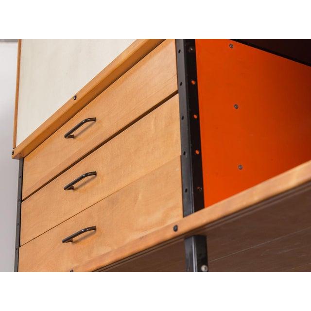 Herman Miller Charles & Ray Eames Esu 400 C Storage Unit for Herman Miller For Sale - Image 4 of 11