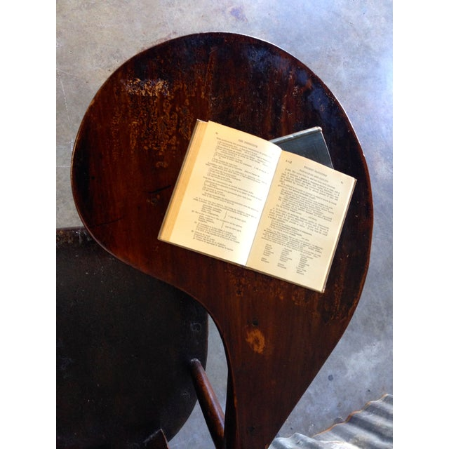 Early New England Windsor Writing Chair - Image 6 of 9