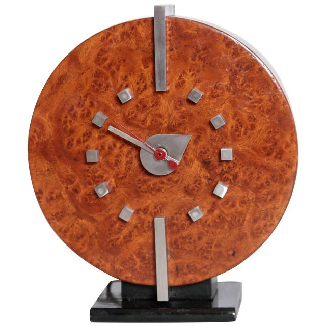 Machine Age Gilbert Rohde Herman Miller Century of Progress Clock, No. 4725B For Sale - Image 11 of 11