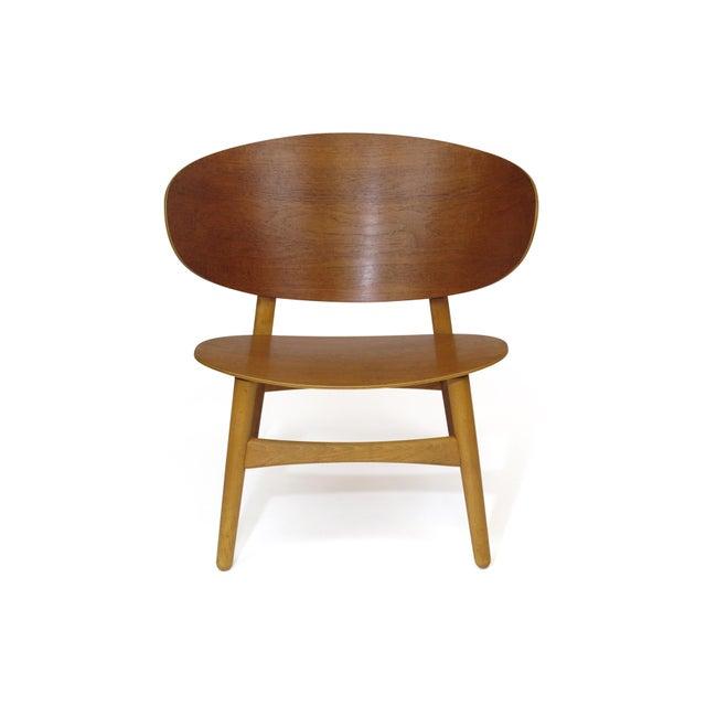 Beech Hans Wegner Teak Shell Chair Fh-1936 For Sale - Image 7 of 12