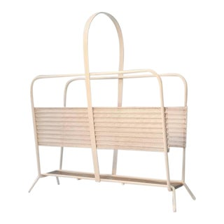 Magazine Rack From France by Mathieu Matégot For Sale