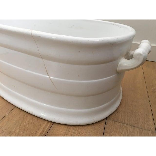 Large Ceramic Decorative Bowl - Image 6 of 8