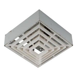 Square factory ceiling lamp For Sale