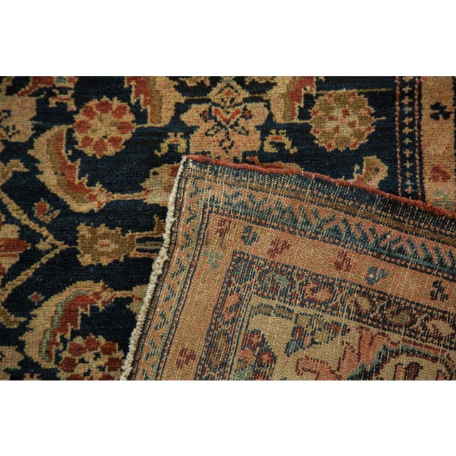 "Vintage Malayer Square Rug - 5' x 6'2"" - Image 7 of 9"