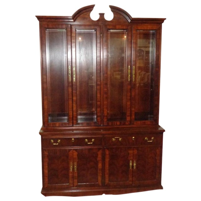 Thomasville Mahogany China Cabinet - Image 1 of 6
