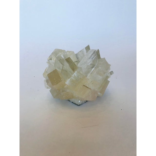 2020s Kathryn McCoy White Calcite Candle Holder For Sale - Image 5 of 5