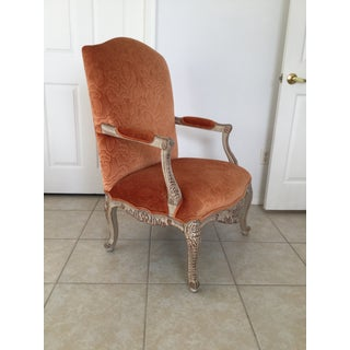 Carved & Painted Louis XV Style Chair Preview