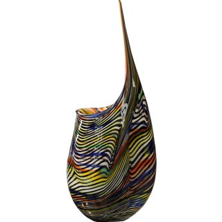 """Tiger"" 1 of 1 Vase by Afro Celotto For Sale"