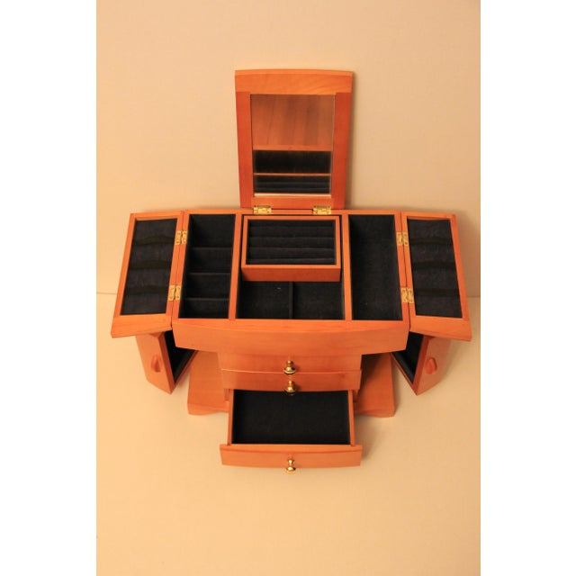 Cherry Wood Jewelry Box - Image 3 of 6