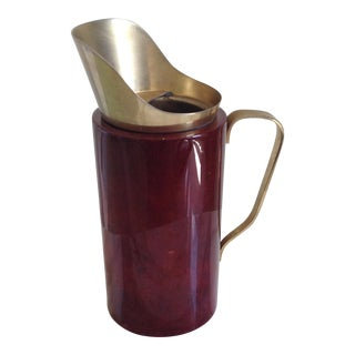 Aldo Tura Cocktail Pitcher For Sale