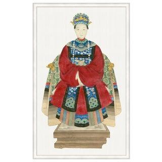 """Empress Statuette"" Framed Print"