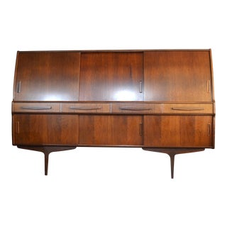 Danish Modern Rosewood Credenza by Poul M Jessen for Pmj Viby For Sale