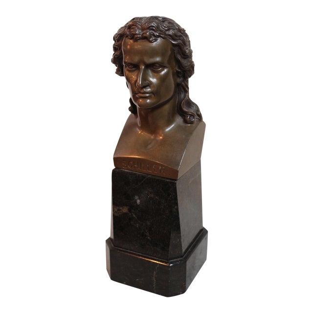 Vintage Schiller Bust For Sale