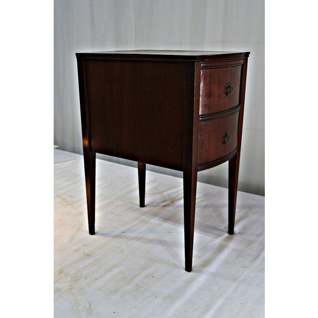 Brown Antique Flint & Horner Nightstand For Sale - Image 8 of 8