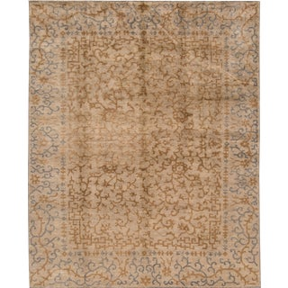 "Apadana Modern Spanish Style Rug - 8' x 9'11"" For Sale"