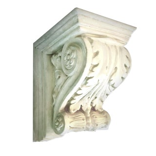Mid 20th Century Empire Style Plaster Corbel Wall Bracket For Sale