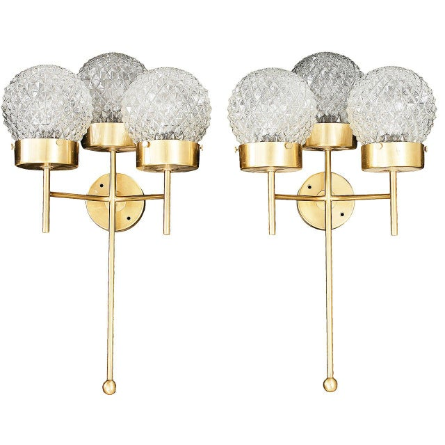 Large and Rare Pair of Wall Lights by Hans-Agne Jakobsson For Sale - Image 11 of 11
