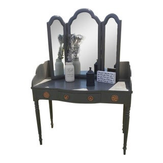 French Provincial Style Dressing Table For Sale