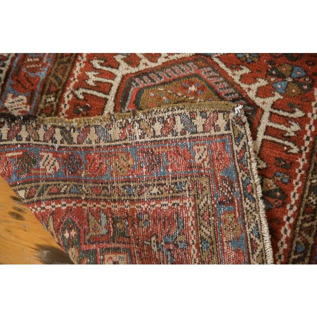 "Vintage Persian Karaja Rug - 2'4"" X 4' - Image 7 of 7"