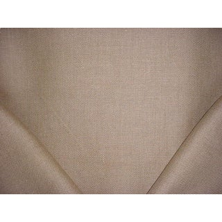 Traditional Ralph Lauren Coptic Linen Twill Flax Drapery Upholstery Fabric - 2-1/4y For Sale