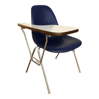 Ray and Charles Eames Dss Fiberglass Chair With Writing Surface Made by Herman Miller For Sale