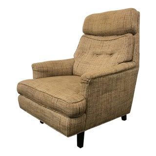 Mid-Century Modern Dunbar High Back Club Chair For Sale