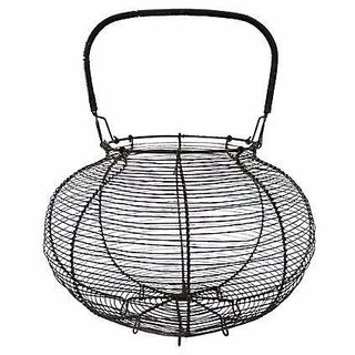 Oversized French Market Produce Basket For Sale