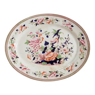 1860s Till & Sons China Platter