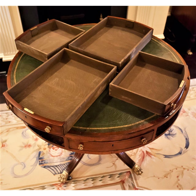 Regency Drum/Rent Table, England Circa 1815 For Sale - Image 12 of 13