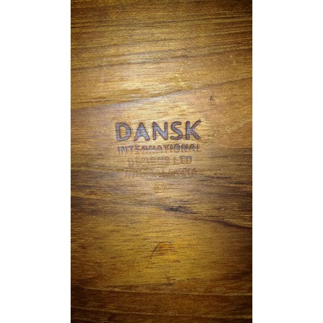 Dansk Danish Teak Tray - Image 6 of 6