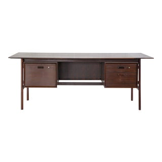 Rosewood Executive Desk C. 1960s
