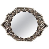 Image of Marrakech Eye Shape Inlay Mirror For Sale