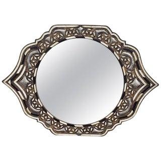 Marrakech Eye Shape Inlay Mirror For Sale