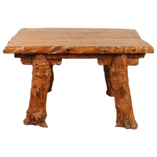 "Chinese Rustic ""Root"" Table"