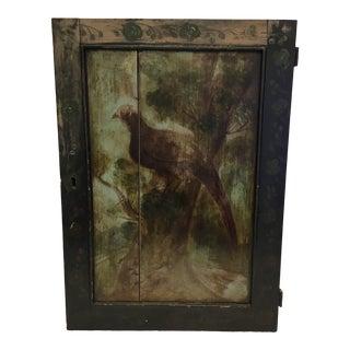 19th Century English Hand Painted Folk Art Panel For Sale
