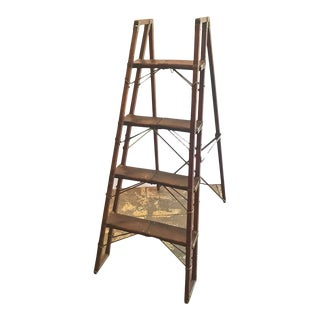 English Library Steps or Ladder For Sale