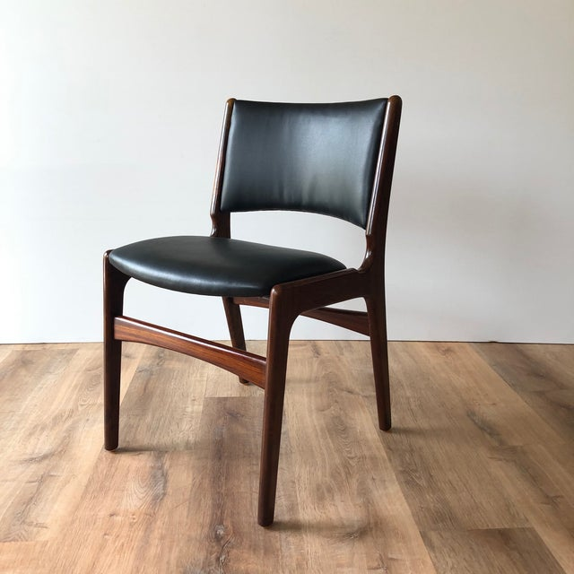 1960s Vintage Rosewood Dining Chairs by Erik Buch (Model 89) - Set of 4 For Sale - Image 11 of 13