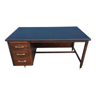 Refinished Mid-Century Modern Executive Desk